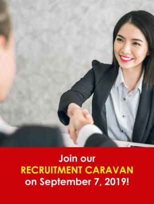RECRUITMENT CARAVAN SEPT 7